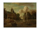 The Arrival of the Embassy of Muscovy in Amsterdam on August 1697