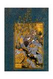 Folio from Mantiq Al-Tayr (The Language of the Bird) by Attar  Ca 1600