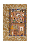 Sufi Reunion  Miniature from Nafahat Al-Uns (Breaths of Fellowshi)
