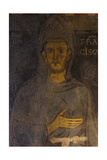 Saint Francis of Assisi (Detail of His Oldest Portrai)  13th Century