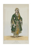 Élisa Rachel as Roxane in Bajazet by Racine  1838