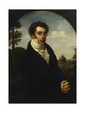 Portrait of Prince Alexander Mikhailovich Golitsyn (1798-185)  1819