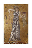Justice (Detail of Interior Mosaics in the St Mark's Basilic)  12th Century