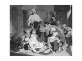 The Burial of Harold at Waltham Abbey  (C184)