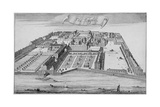 Inner and Middle Temple  City of London  1700
