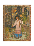 Vasilisa the Beautiful (Illustration to the Book Vasilisa the Beautifu)  1900
