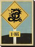 Dragon X-ing Sign