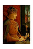 Emperor Maximilian I (1459-151)  with Crown  Sceptre  and Sword  C 1500