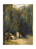 Women Bathing in the Park of Terni