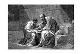 St Paul the Apostle in Prison  Writing His Epistle to the Ephesians  1st Century Ad