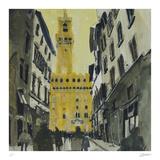 Towards Palazzo Vecchio  Florence