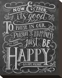 Now & Then It's Good To Pause In Our Pursuit Of Happiness