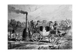Burstall and Hill Steam Carriage 1824