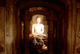 Shrine of Buddha  in a Cave at Sokkuram  Near Kyongju  South Korea