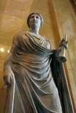 Statue of Euterpe  Muse of Poetry