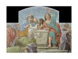 Apostles around the Empty Sepulchre  1604-1607