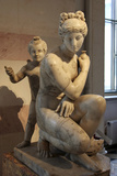 Statue of Bathing Aphrodite and Eros