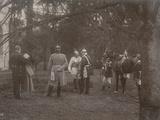 Kaiser William II and Bismarck in Conversation  1895