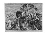 Christophorus Columbus Ligur (Americae Retecti)  1591