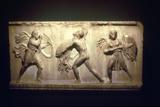 Greek Warrior Fighting an Amazon  8th-5th Century Bc