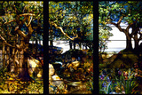 A Wooded Landscape in Three Panels  C 1905