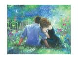Garden Lovers Reproduction d'art par Vickie Wade