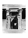 Temple Edfu  Egypt  1893