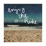 Enjoy the Ride Reproduction d'art par Linda Woods