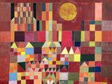 Château et soleil Giclée par Paul Klee