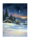 Heavenly Night Reproduction d'art par Vickie Wade