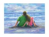 Beach Lovers 2 Reproduction d'art par Vickie Wade