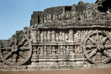 Side Wall of the Chariot  Temple of the Sun  Konarak  India  13th Century