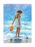 Beach volley Reproduction d'art par Vickie Wade