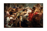 The Abduction of Hippodamia  or Lapiths and Centaurs  1636-1638
