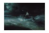 Poseidon's Travel over the Sea, 1894 Giclée par Ivan Konstantinovich Aivazovsky