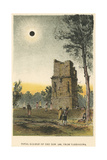 Total Solar Eclipse of 1860 Observed from Tarragona  Spain  1884