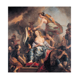 The Sacrifice of Iphigenia  1680