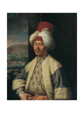 Portrait of an European in Turkish Costume  Second Half of the 18th C