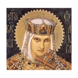 Saint Olga  Princess of Kiev  Second Half of the 19th C