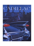 Poster Advertising a Cadillac  1959