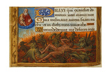 Book of Hours  Detail: Dives Tormented by Demons and Watched by the Soul of Lazarus  C 1500