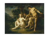 Adam and Eve with Children under a Tree  1803