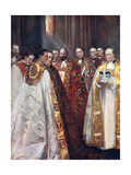 The Archbishop of Canterbury and York  and Other Prelates  the Coronation