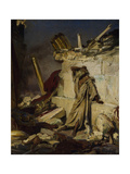 Jeremiah Lamenting the Destruction of Jerusalem  1870