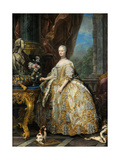 Portrait of Marie Leszczynska  Queen of France (1703-176)  1747