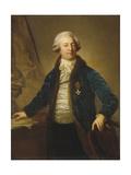 Portrait of Adrian Ivanovich Divov (1749-181)  1790S