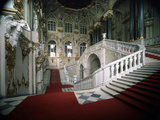 The Grand Staircase of the Winter Palace  1756-1761