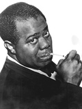 Louis 'Satchmo' Armstrong (C1898-197)  American Jazz Trumpeter and Singer