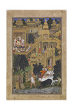 The Lord Krishna in the Golden City  Ca 1586