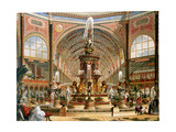 Interior of the Crystal Palace During the International Exhibition  1862